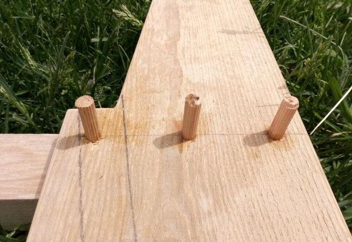 Садовый стул из дерева своими руками