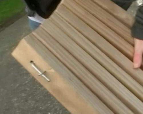 Кресло-стул из дерева своими руками
